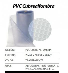 Pvc cubrealfombra archives saveline - Cubre piso alfombra ...