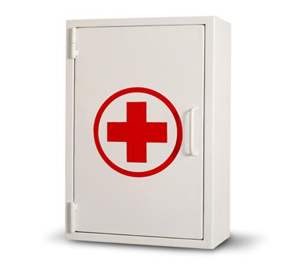 Botiquin primeros auxilios 25 personas