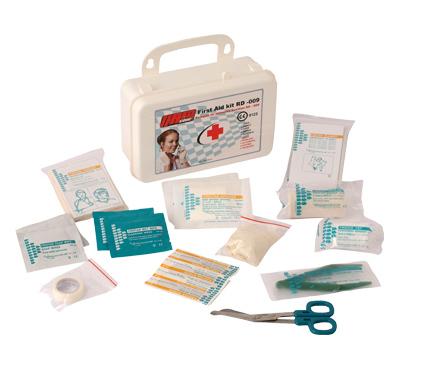 Botiquin primeros auxilios ABS 10 personas