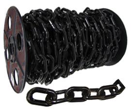 Cadena plastica negra