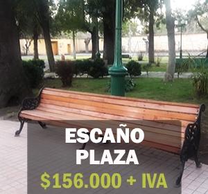 Escaño plaza2