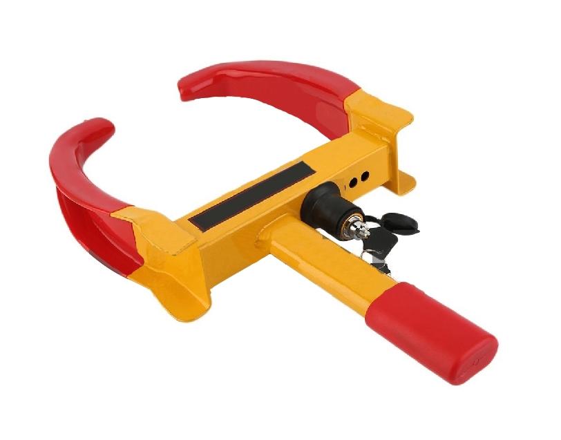 Bloqueadore de rueda con llave