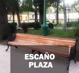 Escaño plaza3
