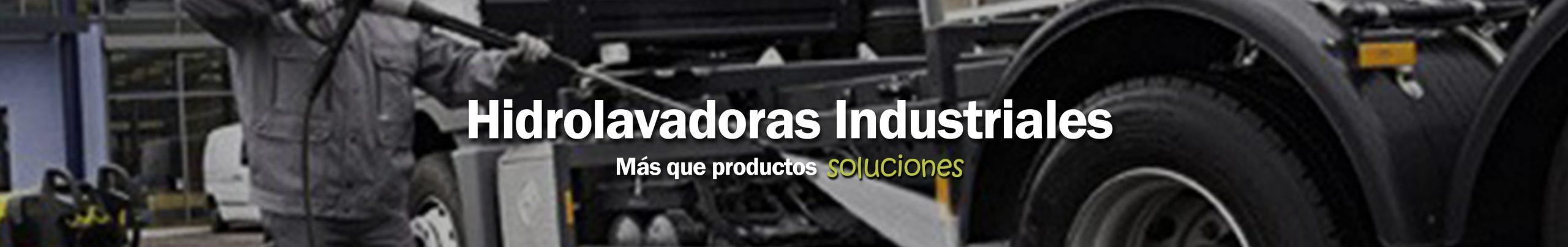 Hidrolavadoras Industriales
