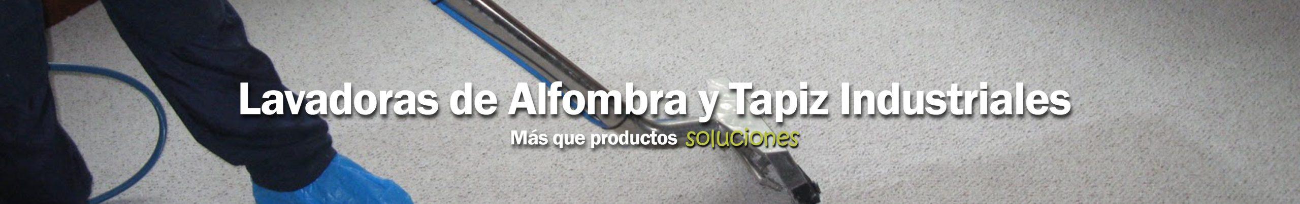 Lavadoras de Alfombra y Tapiz Industriales